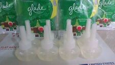 10 GLADE PLUGINS SCENTED OIL REFILLS SHIMMERING SPARKLING SPRUCE HOLIDAY FIR NEW