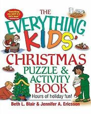 Kids' Christmas Puzzle : Mazes, Activities, and Puzzles for Hours of Holiday...
