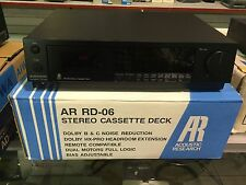 Vintage ACOUSTIC RESEARCH AR RD-06 Cassette Deck BRAND NEW IN BOX