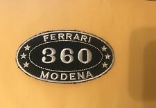 FERRARI MODENA PATCH IRON ON OR SEW ON  AUTOMOTIVE  US SELLER FREE SHIPPING