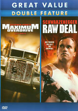 Maximum Overdrive / Raw Deal (Double Feature) New DVD