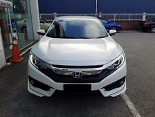 honda civic 2016 front aero body kit lip  painted