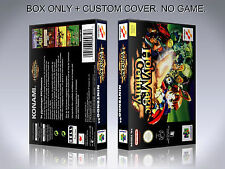 HOLY MAGIC CENTURY. PAL VERSION. Box/Case. Nintendo 64. BOX + COVER. (NO GAME).