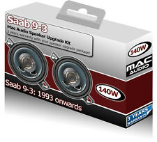 "Saab 9.3 93 Dash Speakers Mac Audio 3.5"" 87mm Speaker"