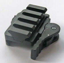 New Tactical Compact Quick Release Mount Adapter fit 20mm Picatinny Rail Base 70