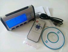 Digitaluhr Wecker Kamera DVR USB Clock Video Audio Uhr Spy Cam + Fernbedienung