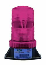 BS1 9-80V AC/DC PINK STROBE Xenon Forklift Emergency Warning Light Beacon
