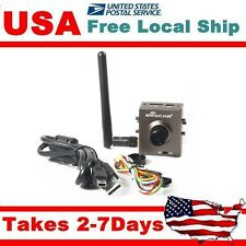 BOSCAM FPV 5.0 MP HD Solar Video Camera DVR 130° w/ 5.8Ghz 8ch Transmitter TR1
