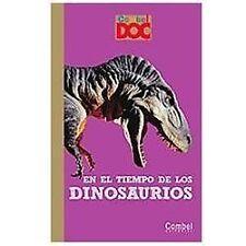 En el tiempo de los dinosaurios (Combel DOC) (Spanish Edition)-ExLibrary