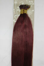 """AAA 18""""-32"""" Remy Human Hair Straight Stick I-Tip In Extensions 100s 1g/s 100g"""