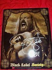 ZAKK WYLDE SIGNED 8 X 10 PROMO PHOTO