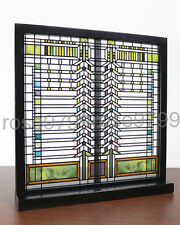 Frank Lloyd Wright Martin Casement Window Stained Art Glass Panel