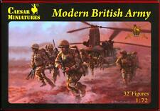 Caesar Miniatures 1/72 MODERN BRITISH ARMY Figure Set