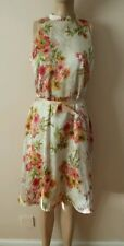 BEAUTIFUL TAILORED VINTAGE FLORAL PRINT DRESS FROM NEXT SIZE 12 NEW WITH TAGS