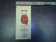 pulver hotchu spice chewing gum card stock stock # 240