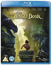 BLU-RAY DISNEY THE JUNGLE BOOK   BRAND NEW SEALED GENUINE UK STOCK