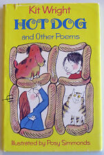 """HOT DOG AND OTHER POEMS"", Kit Wright, HC+dustjacket"