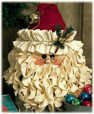 KRINGLE BELL SANTA Table Topper Happy Hollow Designs Christmas Pattern