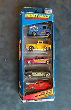 CHRISTMAS GIFT ! HOT WHEELS 5 VEHICLE GIFT PACK   HOUSE CALLS   (INV 1 HW)