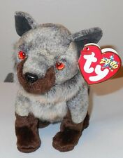 Ty Beanie Baby ~ HOWL the Wolf ~ MINT with MINT TAGS ~ RETIRED
