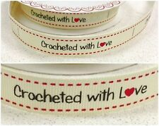 -:- Crocheted With Love -:- Bertie's Bows Ribbon - 16mm -  Crafts, Labels etc...