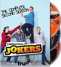 Impractical Jokers: The Complete Second Season - 3 DISC (2014, REGION 1 DVD New)