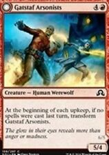 Gatstaf Arsonists NM X4 Shadows Over Innistrad MTG Red Common