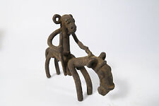 Alter Senufo Reiter Utensil Wahrsager A Old horse rider cavalier Senoufo Afrozip