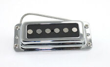 FrankenTone Mod Pickup - Rickenbacker mount - Alnico Single Coil Bridge - Black