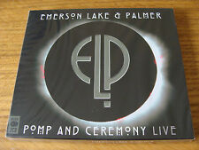 CD Double: Emerson, Lake & Palmer : Pomp And Ceremony Live (ELP) : Sealed 2 CDs
