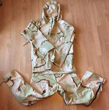 US Military Parka, Cold Weather, Desert Camo Water Proof Set Sz Med Reg RARE NEW
