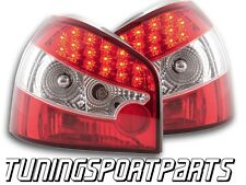 REAR LED TAIL LIGHT CRISTAL FOR AUDI A3 8L 96-03 LAMPS FANALE POSTERIORE