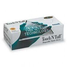 10 BXS ANSELL 92-600 MEDIUM TOUCH N TUFF NITRILE POWDERFREE CASE/10 BOXES