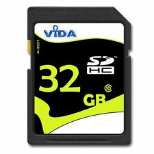 32GB SD/SDHC SD Memory Card for Digital Camera Camcorders Drones