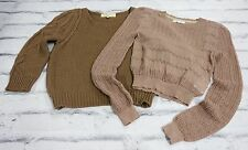 New Neutrals: 2 x Vanessa Bruno & Opening Ceremony Crop Sweater £475 Sz XS