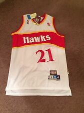 REDUCED Mens Large Vintage Dominique Wilkins Atlanta Hawks NBA Basketball Jersey