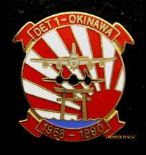 DET 1 ICHI BAN HAT LAPEL PIN SR71 KC135 US AIR FORCE KADENA AFB RETIREMET GIFT