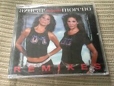 AZUCAR MORENO - TEQUILA REMIXES CD SINGLE EPIC 2002 NUEVO PRECINTADO SEALED
