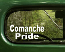 Comanche Decal Sticker (2 )Native American For Cars Trucks, Laptops