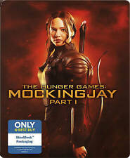 The Hunger Games: Mockingjay, Part 1 STEELBOOK (Blu-ray, DVD, 2015)