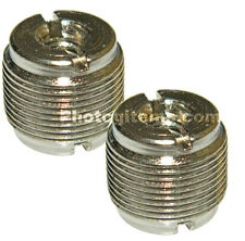 """Adapter 1/4"""" 20 Male light stand to standard microphone 5/8"""" 27 Thread 2 PK 5794"""