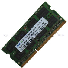 Samsung 2GB PC3-10600s DDR3-1333 1333Mhz Sodimm Notebook 2RX8 Laptop Ram Memory