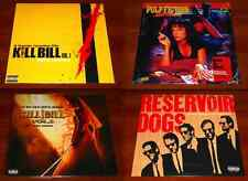 QUENTIN TARANTINO 4x LP OST VINYL Lot PULP FICTION RESERVOIR DOGS KILL BILL 1 2