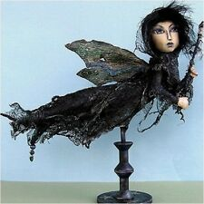 "*NEW* CLOTH FOLK ART DOLL (E-PATTERN) ""BANSHEE"" BY SUSAN BARMORE"