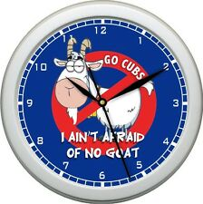 "Billy Goat Curse Chicago Cubs 10"" Wall Clock World National League Champs"