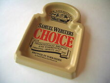 Samuel Websters Choice Yorkshire Brewed Beer Ceramic Pub Dish ASH Tray