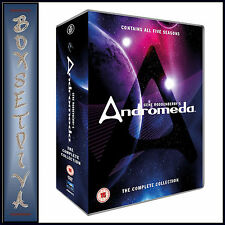 ANDROMEDA - COMPLETE COLLECTION - SEASONS 1 2 3 4 & 5 **BRAND NEW DVD BOXSET***