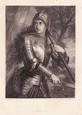 """Portrait """"Johanna"""" Stst.von G.Goldberg nach Fr.Pecht, ca. 1858"""