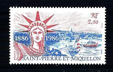 ST. PIERRE E MIQUELON - 1986 - 100° dell'erezione della Statua della Libertà