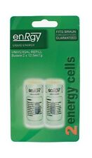 3 X TWIN PACK ENERGY GAS CELLS REFILLS FOR BRAUN CORDLESS STYLERS MINI GREEN